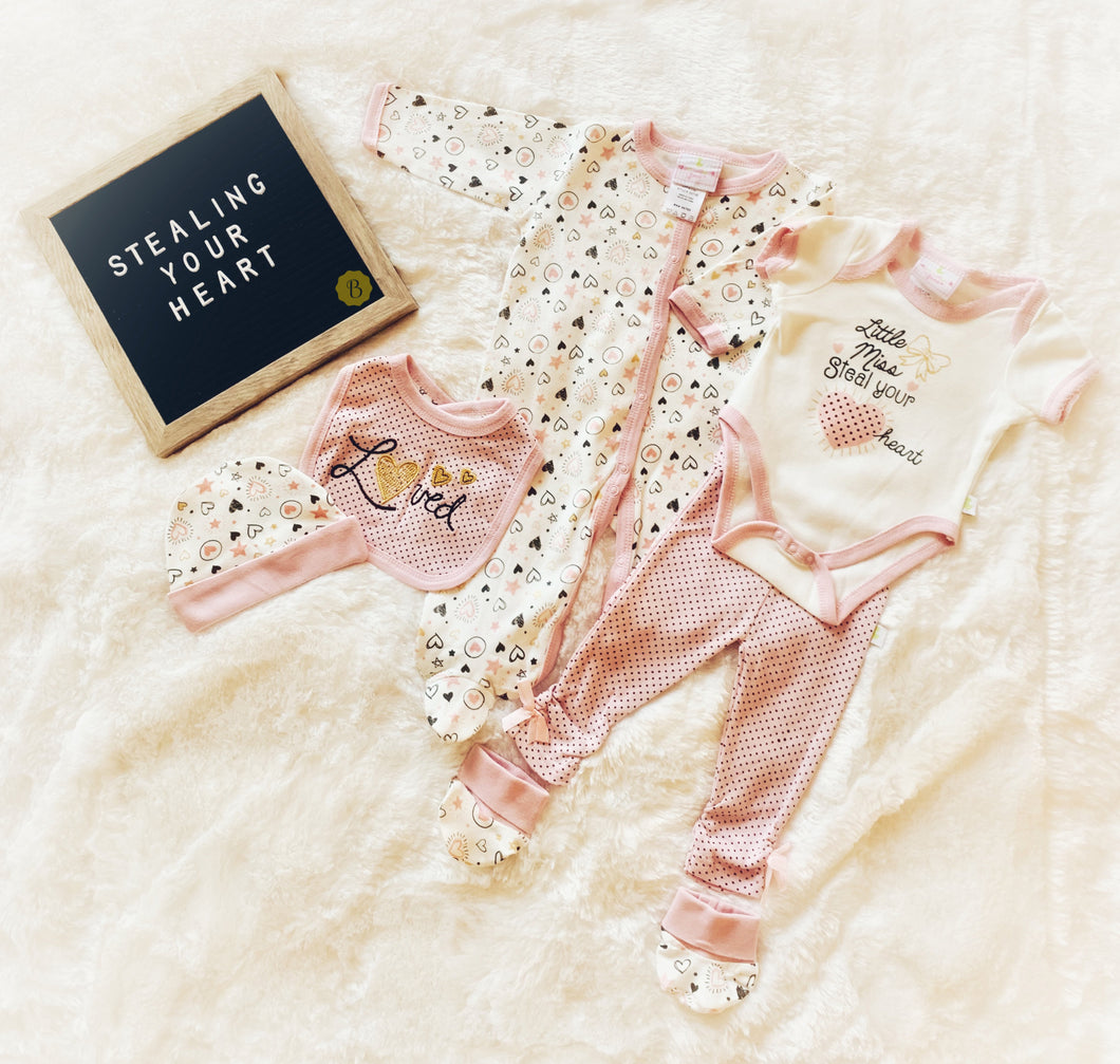 Little Miss Steal Your Heart (6 Piece Set)