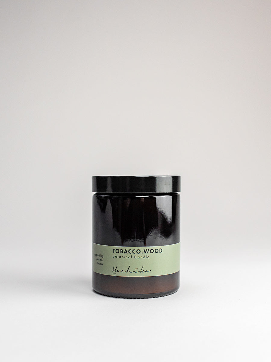 Scented Candle Tobacco Wood
