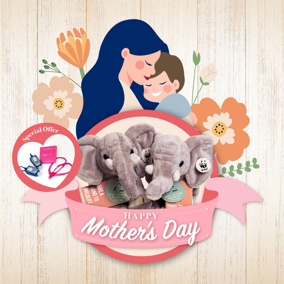 Mother's Day version - Bring Me Home Elephant with Togetherband