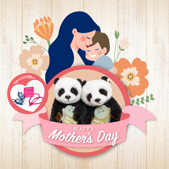 Mother's Day version - Bring Me Home Panda with Togetherband