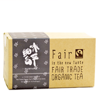 FAIRTASTE ORGANIC EARL GREY TEA | 有機伯爵茶(25茶包)