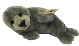 Grey Seal on the side 24cm | 灰色海豹公仔 24cm