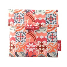 Eco wrap Snack'n'go Patchwork - Orange | 食物麵包袋併布圖案 - 橙色