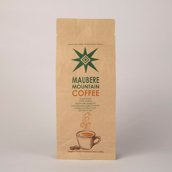 MAUBERE MOUNTAIN COFFEE POWDER 200GM | Maubere Mountain 咖啡粉200gm