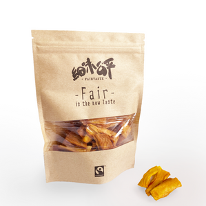FAIRTASTE Organic Sun Dried Mango Strips 80g | 有機天然生曬芒果乾 (80克)