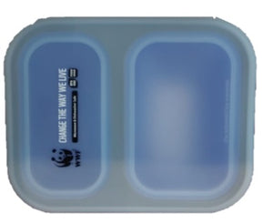 Silicone collapsible lunch box 1200ml | 輕便矽膠餐盒1200ml