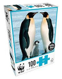 WWF 100 pieces jigsaw puzzle | WWF 100塊動物砌圖