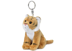 Brown Tiger Keychain | 老虎匙扣