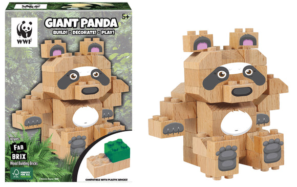 WWF Wood Brick collectible figures | WWF 木製積木