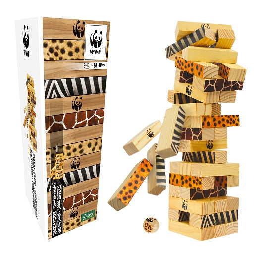 WWF Miombo tumble tower | WWF 層層疊