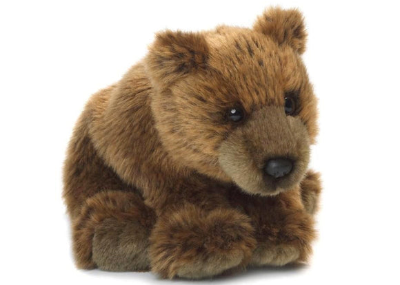 Grizzly Bear Floppy 15cm | 灰熊公仔 15cm