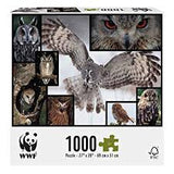 WWF 1000 pieces jigsaw puzzle | WWF 1000塊動物砌圖