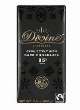 DIVINE 85% DARK CHOCOLATE 90G | 85%黑朱古力 (90克)