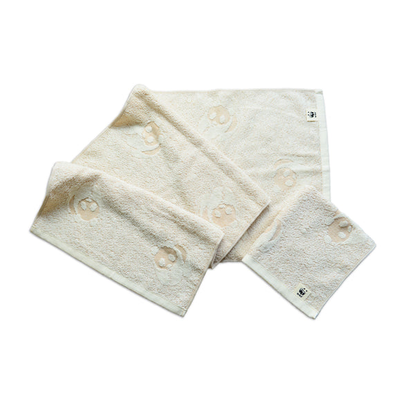 ORGANIC COTTON HAND TOWEL | WWF 有機棉熊貓毛巾