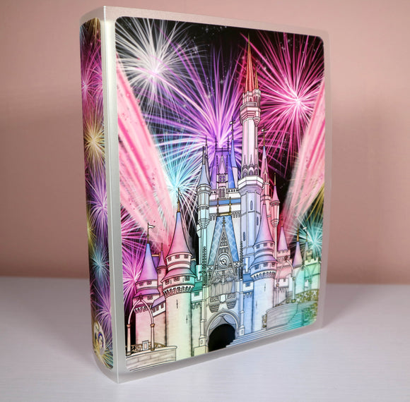 Fireworks at the Castle 5x7 Sticker Album