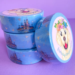 Meet me at the Castle 15mm washi tape *You must select tracking at checkout*