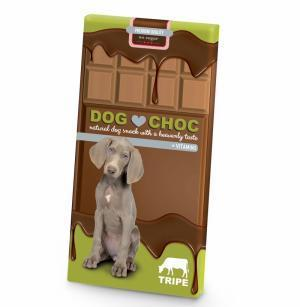 DOG CHOC - CHOCOLATE TRIPA - MundoAnimal.pt