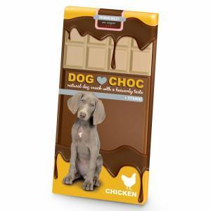 DOG CHOC - CHOCOLATE FRANGO - MundoAnimal.pt