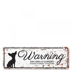 PLACA WARNING SIGN CHIHUAHUA - MundoAnimal.pt