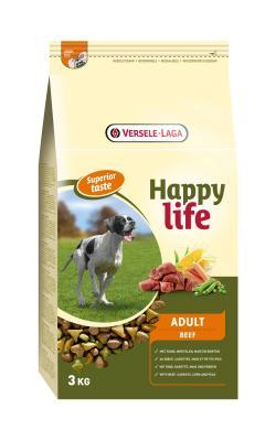 HAPPY LIFE ADULT BEEF - MundoAnimal.pt