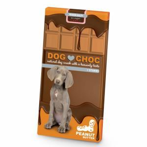 DOG CHOC - CHOCOLATE AMENDOIM - MundoAnimal.pt