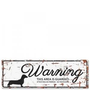 PLACA WARNING SIGN - MundoAnimal.pt