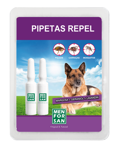 PIPETA DESPARASITANTE PARA CÃES - MEN FOR SAN