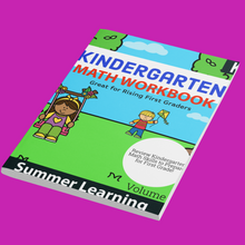 Load image into Gallery viewer, Goodbye Kindergarten: Summer Learning Workbook