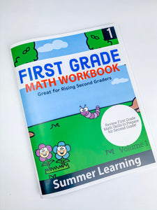 Goodbye First Grade: Summer Learning Workbook