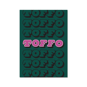 Mint Toffo Graphic Art Print