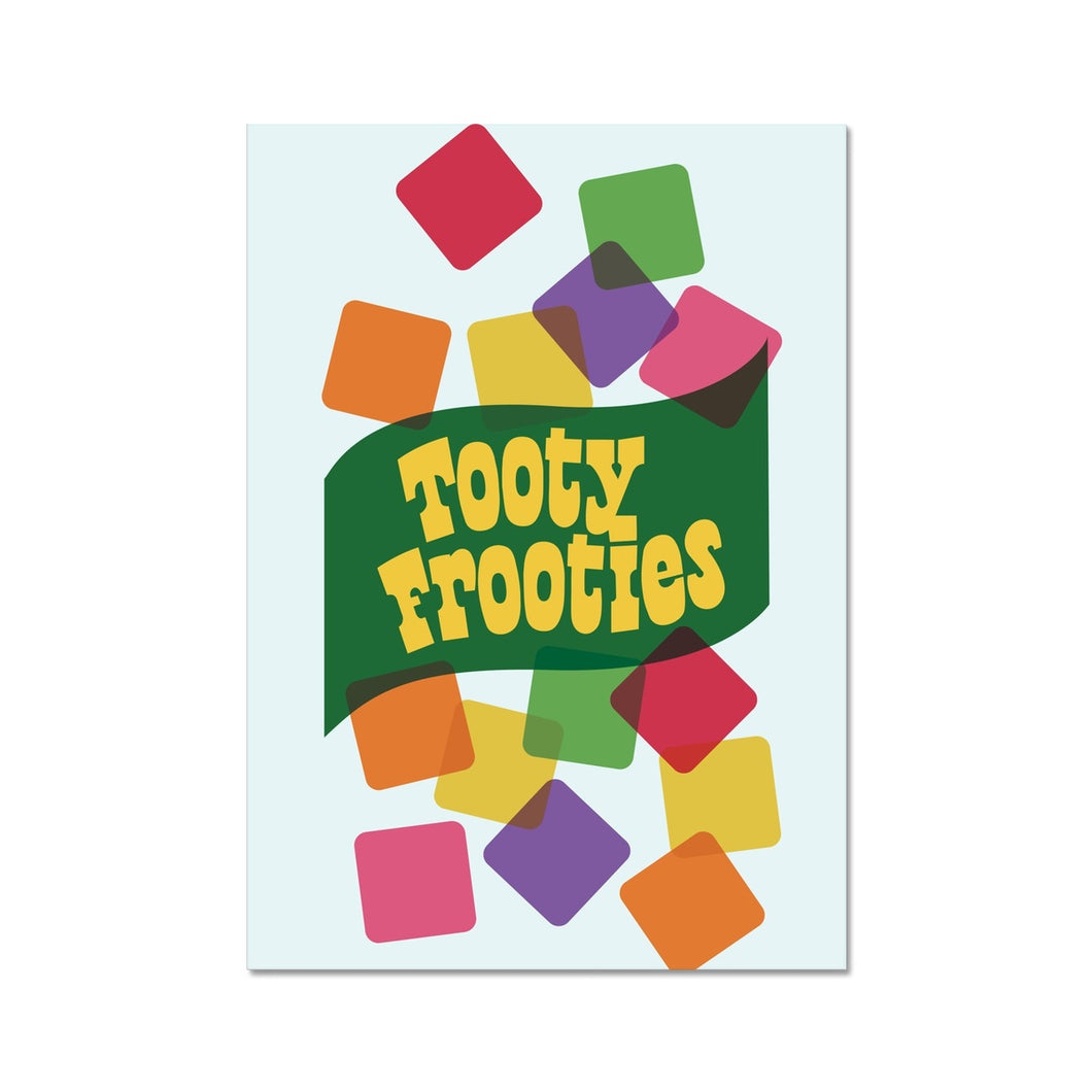 Tooty Frooties Graphic Art Print