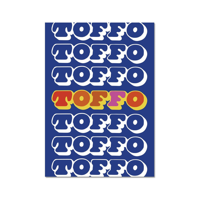 Toffo Graphic Art Print