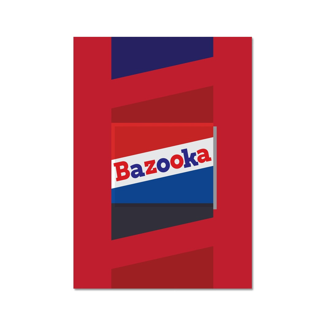 Bazooka Hahnemühle Photo Rag Print