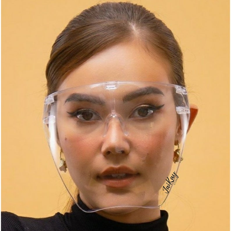 Face Shield 3.2 - Óculos Protetor Transparente