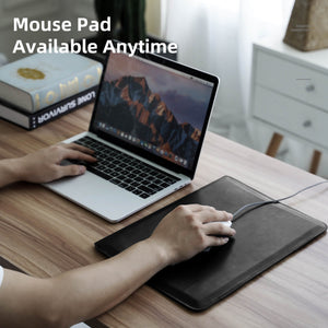 Mouse Panel Computer Stand Holder Bag For Macbook