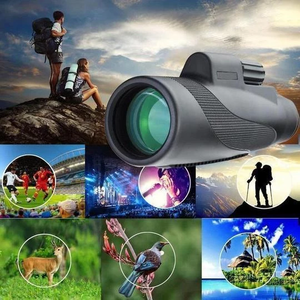 2020 New Waterproof 40X60 High Definition Monocular Telescope(Buy 2 free shipping)