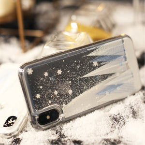 Christmas Cedar Quicksand Phone Case