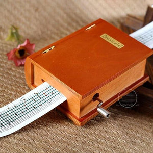 (50% Off today)DIY book music box