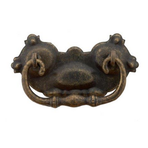 Traditional Vintage Drop Handle - 96mm x 52mm (CC = 57mm)