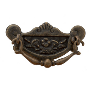 Traditional Vintage Drop Handle - 92mm x 51mm (CC = 64mm)