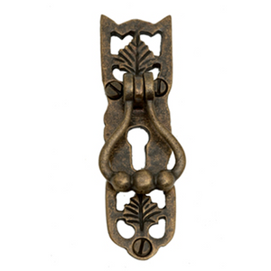 Traditional Fancy Drop Handle with Keyhole