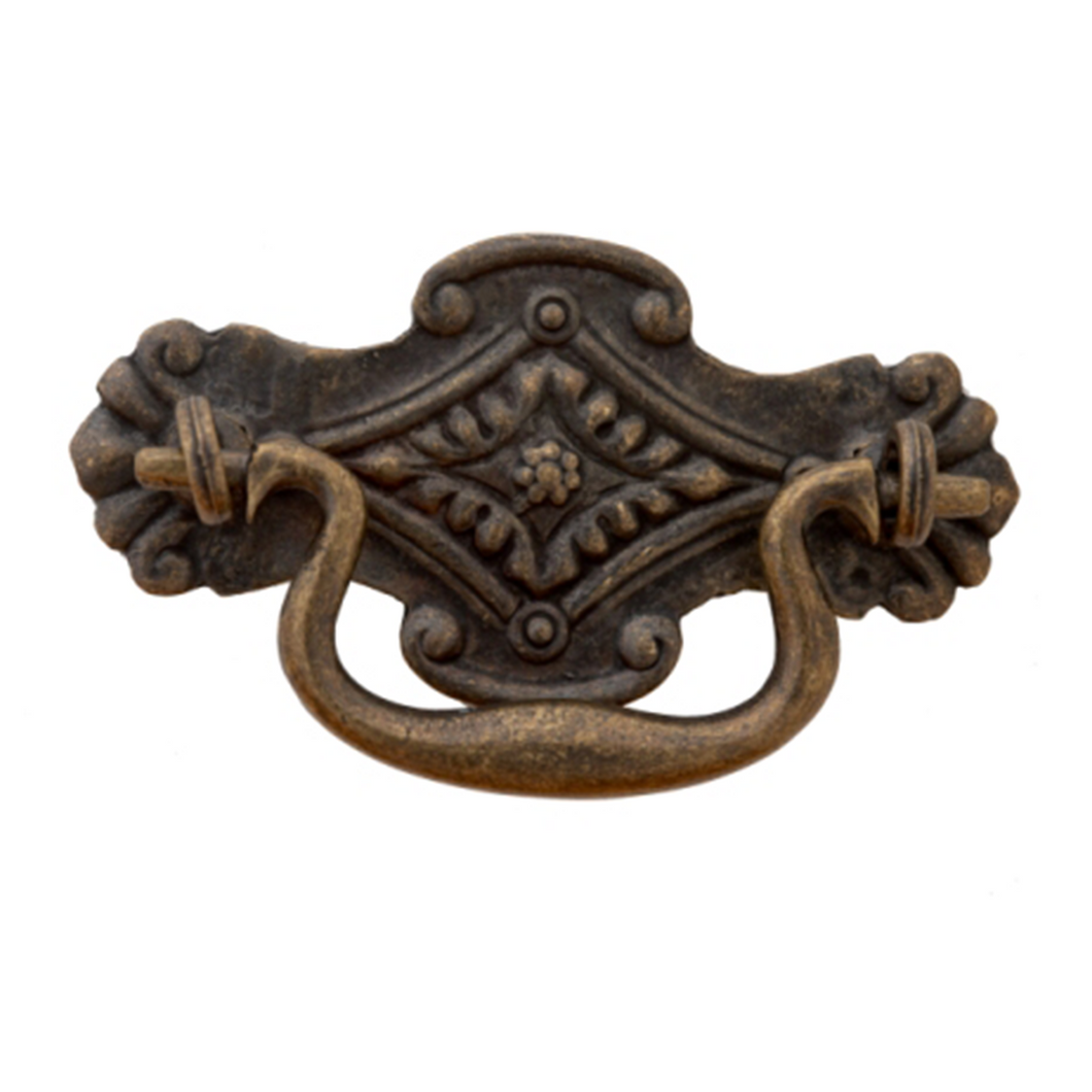 Traditional Vintage Drop Handle - 86mm x 49mm (CC = 61mm)