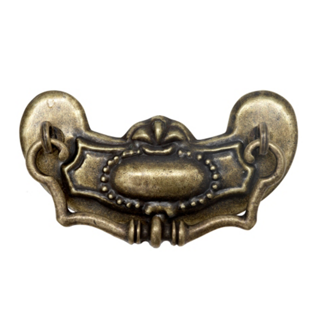 Traditional Vintage Drop Handle - 98mm x 46mm