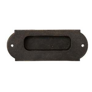 Flush Handle - Off Centre - Pull / Barn Door Handle - 154mm x 60mm