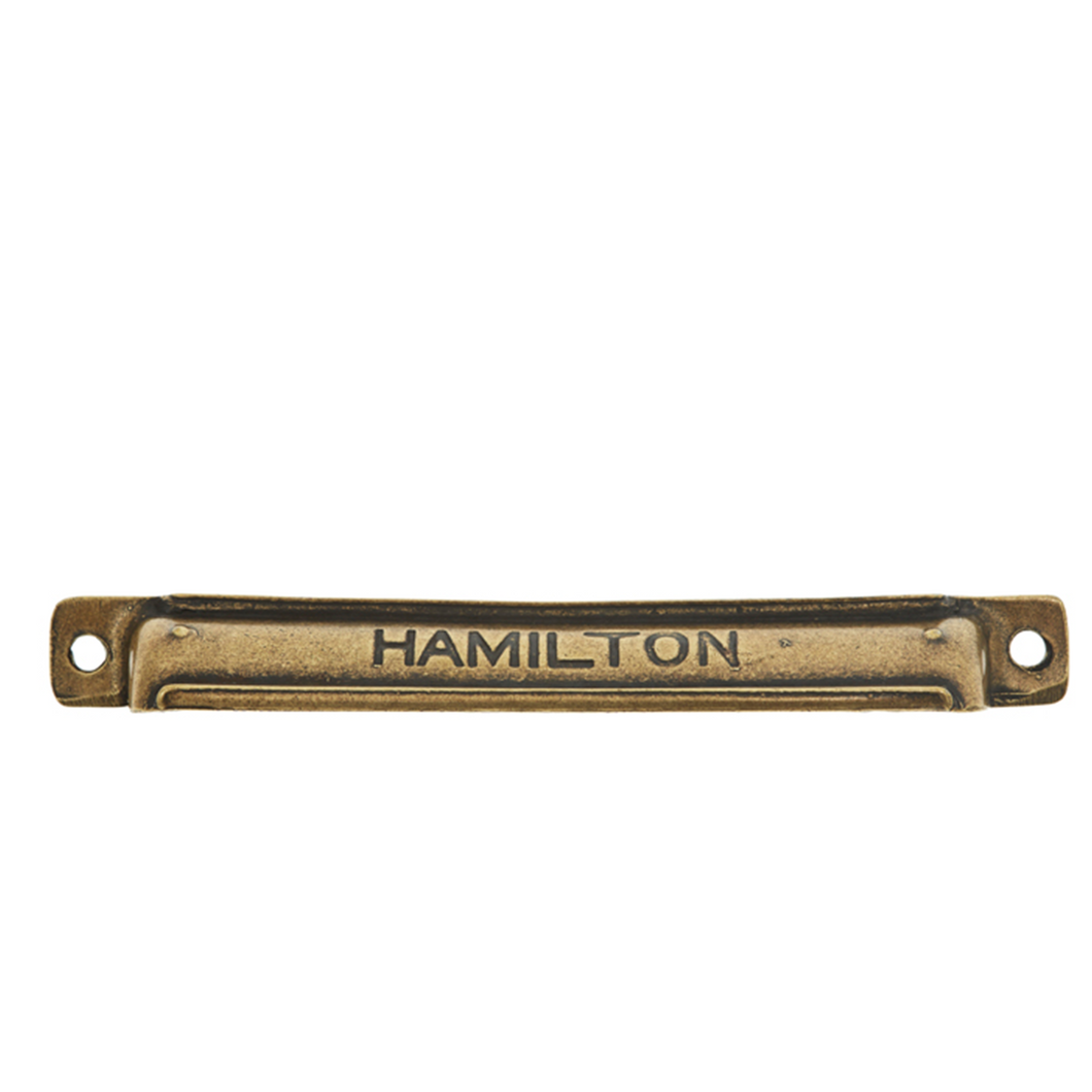 Industrial Hamiltons Cup Handle - 160mm x 25mm
