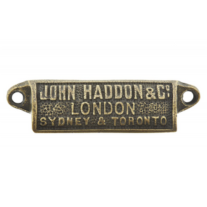 Industrial John Haddon Cup Handle