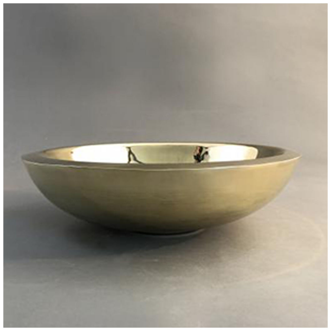 Double Skin Brass Basin