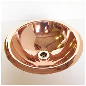 Copper Counter Top or Drop-in Basin