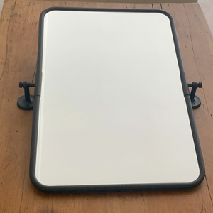 Black Swivel Wall Mirror - 500mm X 760mm