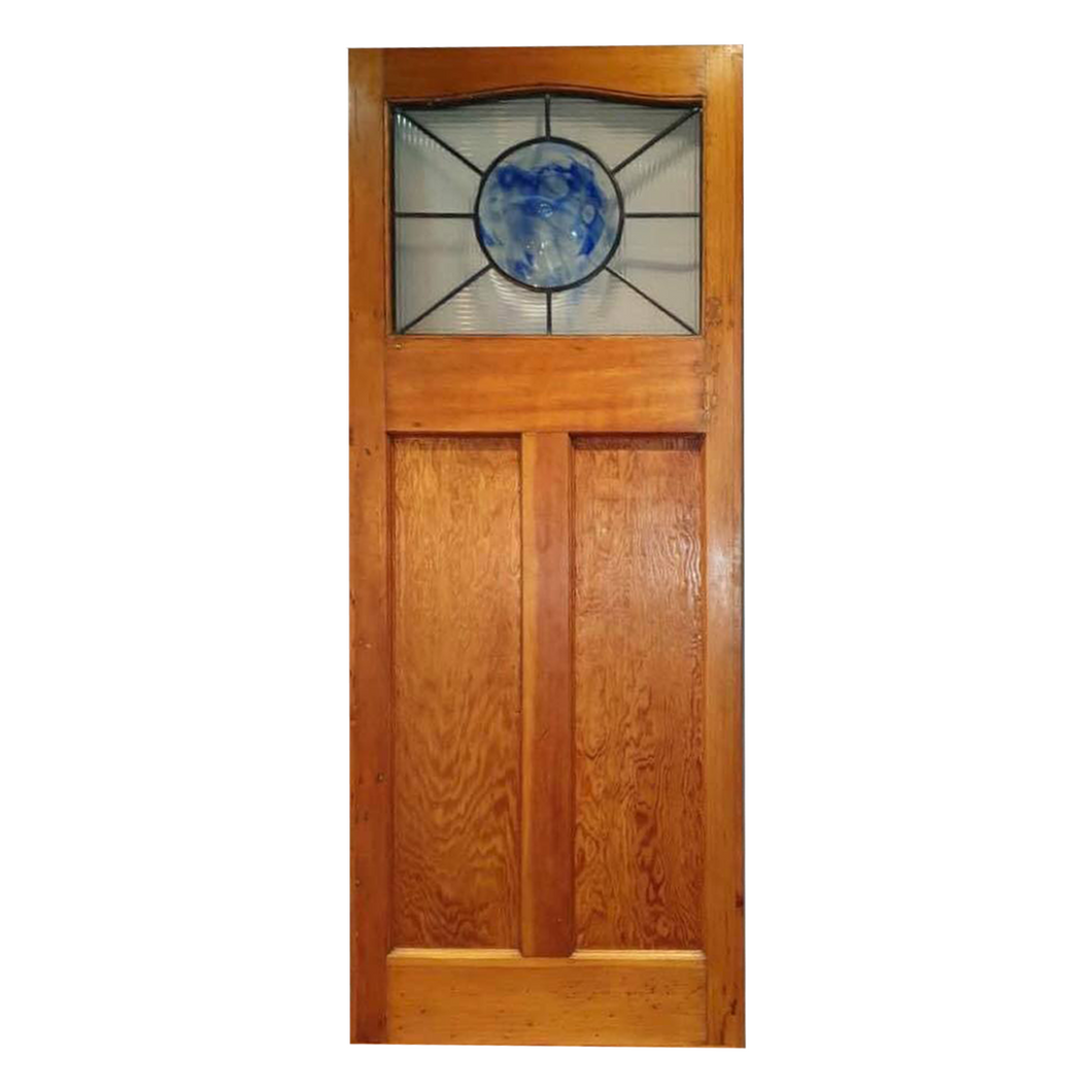 Internal Door with Blue Bulls Eye